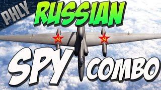 getlinkyoutube.com-RUSSIAN SPY COMBO-  KV-1B & IL-2 (War Thunder Tanks Gameplay)