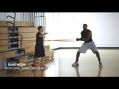 LeBron James - 1 hour workout (uncut)