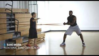 getlinkyoutube.com-LeBron James - 1 hour workout (uncut)