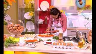 getlinkyoutube.com-OEUF MAROCAIN & CHOUMICHA  - Salade de légumes aux œufs mimosa - ÉPISODE 34