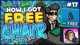 getlinkyoutube.com-HERE IS HOW I GOT A BRAND NEW FREE CHAIR ON TUBER SIMULATOR (NO HACKS) PewDiePie Tuber Simulator #17