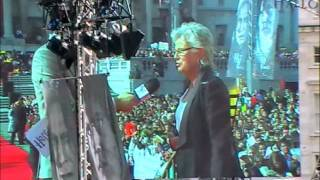 Julie Walters at the Harry Potter World Premiere