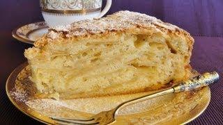 Яблочный пирог рецепт простейший приготовления Шарлотка рецепт простой приготовления
