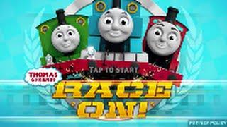 getlinkyoutube.com-Thomas and Friends Race On Thomas versus Henry Racing Battle Train Game for Kids