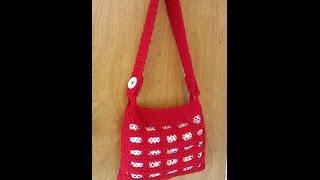 getlinkyoutube.com-CROCHET How to #Crochet Handbag Purse with lining #TUTORIAL #108