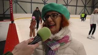 Čadčania si užívajú bezplatné korčuľovanie v MM aréne