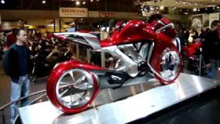 getlinkyoutube.com-Honda V4 Concept- brussels motor show 2009
