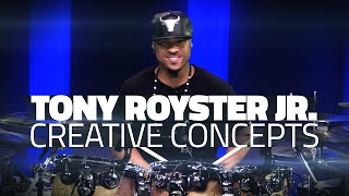 getlinkyoutube.com-Tony Royster Jr: Creative Concepts - Drum Lesson (Drumeo)