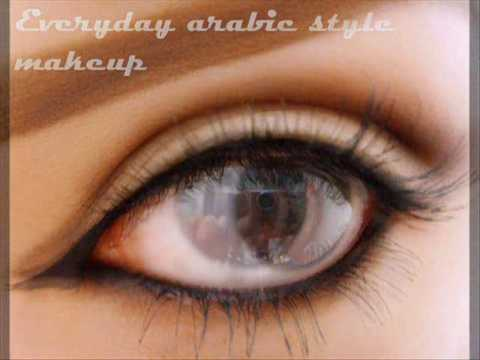 everyday simple arabic eye makeup