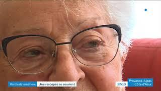 Nice : Anna Barbut, rescapée de la déportation