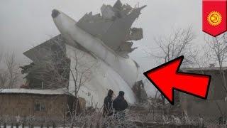 getlinkyoutube.com-Plane crashes into buildings while landing in fog in Kyrgyzstan, dozens killed - TomoNews