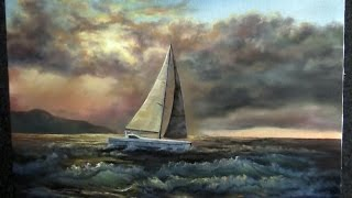 getlinkyoutube.com-Paint with Kevin Hill - Sailing Near the Reef