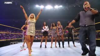 getlinkyoutube.com-WWE NXT NXT Rookie Diva Challenge   Dance Contest