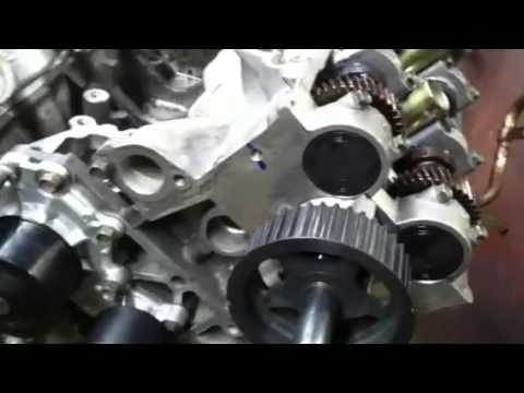 Timing an Isuzu 3.2/3.5 late model engine