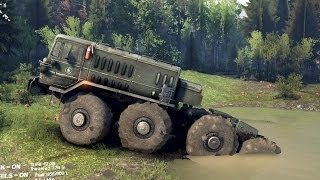 getlinkyoutube.com-SPINTIRES 2014 - The Hill Map - MAZ 537 Removing the Last Cloacking