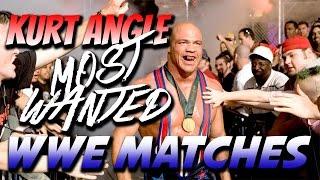getlinkyoutube.com-Top 10 MOST WANTED Kurt Angle WWE Matches | KURT ANGLE HALL OF FAME GIMMICK