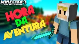 getlinkyoutube.com-MINECRAFT PE MAPA HORA DE AVENTURA/ADVENTURE TIME !