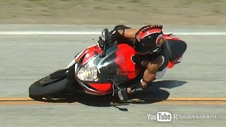"getlinkyoutube.com-GSXR Lowside ""The Snake"" Mulholland Hwy"