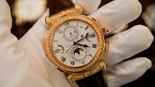 getlinkyoutube.com-Up Close With The Patek Philippe Grandmaster Chime