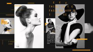 Fashion Magazine Promo | After Effects template