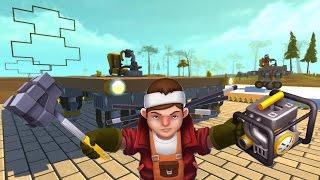 getlinkyoutube.com-Scrap Mechanic - Flying Machine Challenge