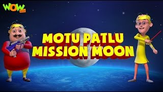getlinkyoutube.com-Motu Patlu Mission Moon - Movie