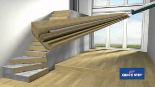 getlinkyoutube.com-Quick-Step Incizo stair profile installation