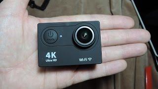 getlinkyoutube.com-Распаковка EKEN H9 Ultra HD 4K WiFi экшен камера за 40$ с 4К