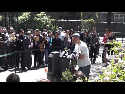 Adam Horovitz Speaks At Adam Yauch Park Ceremony