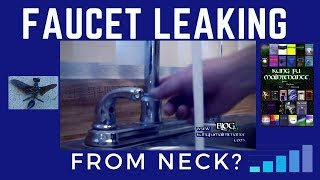getlinkyoutube.com-How To Fix A Faucet That Is Leaking From The Neck