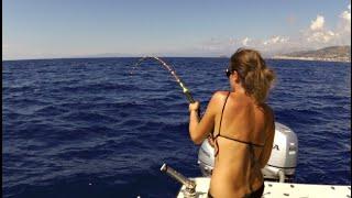 getlinkyoutube.com-Tanto divertimento a pesca.