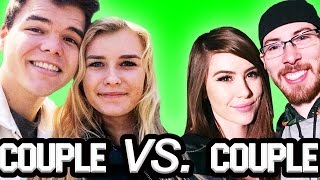 getlinkyoutube.com-COUPLE vs. COUPLE ON GTA 5