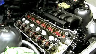 getlinkyoutube.com-BMW E36 E34 camshaft & lifter removal and installation