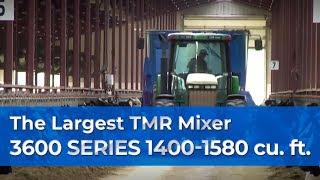 getlinkyoutube.com-Farm Demo -- The Largest Patz Vertical TMR Feed Mixer, 1400-1580 Cu/Ft