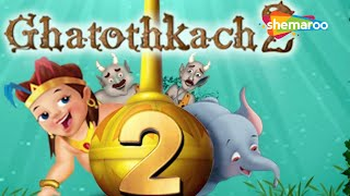 getlinkyoutube.com-Ghatothkach 2 (Hindi) - Exclusive Full Length Movie - Animated Movies for Kids - HD