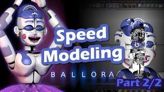 getlinkyoutube.com-Ballora   Modeling Timelapse   Part 2/2