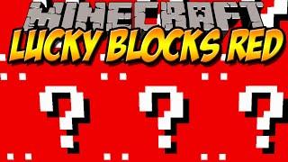 getlinkyoutube.com-ROTE LUCKY BLOCKS | Lucky Block Red Mod | Minecraft Mod Review [DEUTSCH]