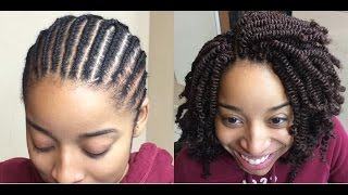 getlinkyoutube.com-#83. THE RIGHT WAY TO TWIST SPRING TWIST HAIR