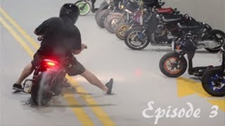 getlinkyoutube.com-Honda Ruckus Wheelies, Burnouts, Beach rides, and May the 4th Ride.