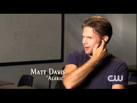 The Vampire Diaries Stakeout: Behind-The-Scenes transformations - Damon & Alaric