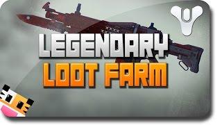 getlinkyoutube.com-Destiny Rare Loot - Legendary Loot and Rare Loot Farm (Destiny Loot Farm Tutorial)