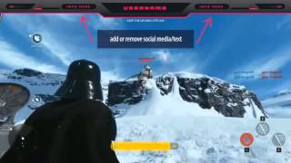 Star Wars Battlefront Twitch Overlay Template