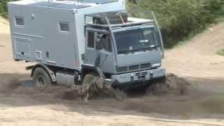 getlinkyoutube.com-Steyr 12M18 mit Bliss mobil-15ft im OffroadTest