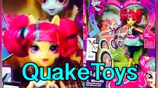 getlinkyoutube.com-New First Look My Little Pony Equestria Girls Friendship Games Archery Sour Sweet Shadowbolt Doll!
