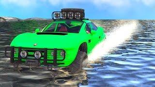 getlinkyoutube.com-WORLDS HARDEST GTA RACE! (GTA 5 Funny Moments)