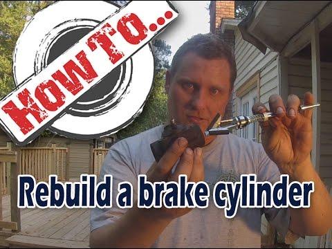 Rebuilding a brake cylinder