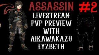 getlinkyoutube.com-Assassin, Raven PVP Preview w/ AikawaKazu & Lyzbeth - Dragon Nest SEA