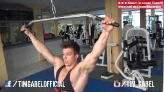 Rücken trainieren - Oberkörper Training TIM-GABEL.COM