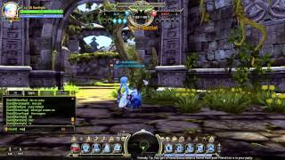 getlinkyoutube.com-Dragon Nest - PvP - Physician vs Inquisitor - Lost Temple (1v1)