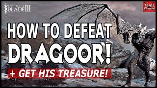getlinkyoutube.com-Infinity Blade 3: HOW TO DEFEAT DRAGOOR + GET HER TREASURE!